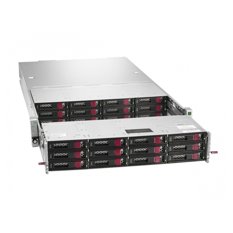 Hewlett Packard Enterprise Apollo 4200 Gen9 server 2,1 GHz Intel® Xeon® E5  v4 E5-2620V4 Rack (2U) 1400 W